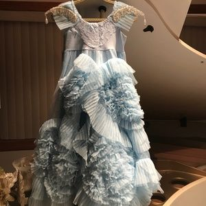 Dollcake Her Baby Blues Frock Size 1, 12 or 14